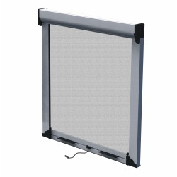 Rolling vertical mosquito net