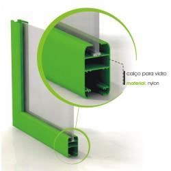 Calço para Vidro Simples (9,8x28x3)