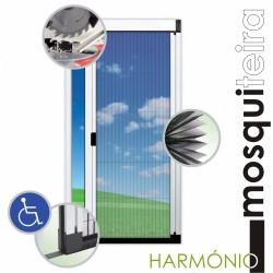 """Système de moustiquaire à houlement horizontal """"Harmónio"""""""